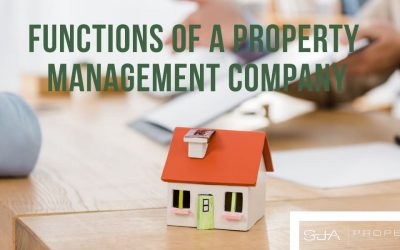 Functions of an Redmond Property Management Company Serving Seattle's Eastside